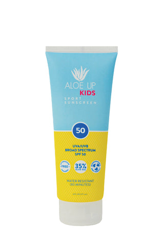 Aloe Up Kids SPF 50 Sunscreen - 177 ml Tube