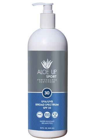Aloe Up Sport SPF 30 Sunscreen Pump  - 950ml