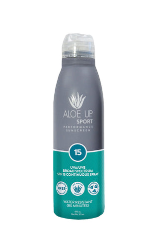 Aloe Up Sport  SPF 15 Sunscreen Spray - 177ml
