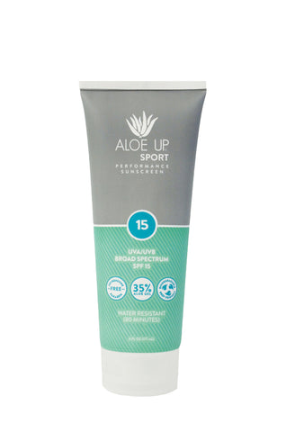 Aloe Up SPF 15 Sport  Sunscreen - 177ml