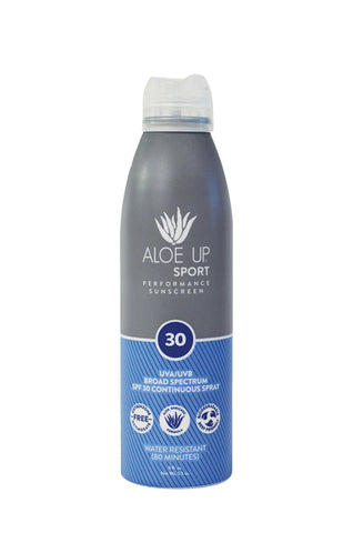 Aloe Up Sport SPF 30 Sunscreen Spray - 177ml