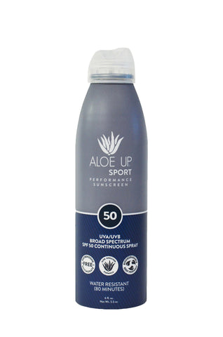 Aloe Up SPF 50 Sport Sunscreen Spray - 177ml