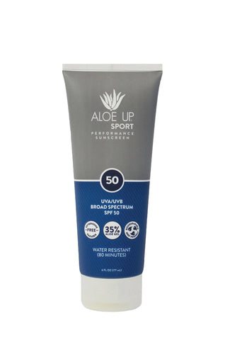 Aloe Up Sport SPF 50 Sunscreen - 177 ml