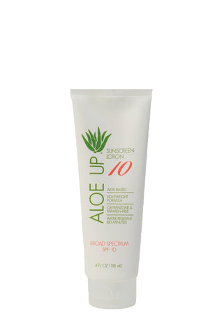 Aloe Up White Collection SPF 10 Sunscreen Lotion - 118ml