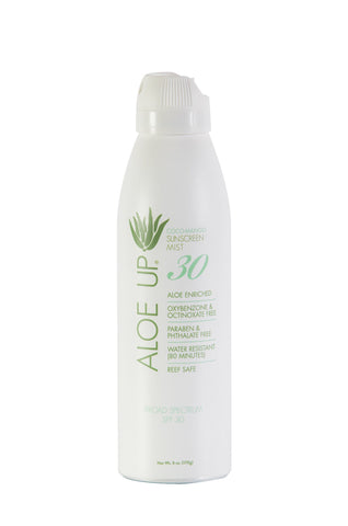 Aloe Up White Collection SPF 30  Sunscreen Spray - 177ml