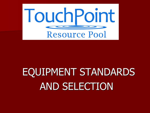 Equipment: Selection and Sourcing (1 CEU)