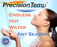 Load image into Gallery viewer, PrecisionTemp RV-550 EC - Wall-Vented Tankless Water Heater - Go Little Go Home