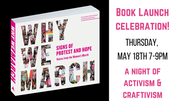 Why We March: Book Launch Celebration!