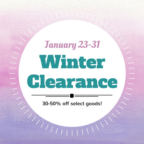 winter clearance sale handmade gifts columbus ohio
