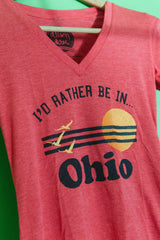 ohio made alison rose rather be in ohio tshirt shop local columbus ohio handmade gift