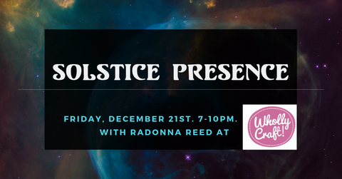 solstice event columbus ohio open late holiday shopping handmade local gifts tarot reading