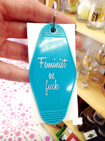 Feminist as Fuck Keychain