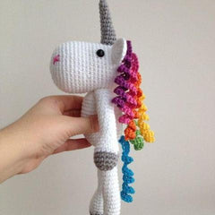 Floppy Crochet Unicorn