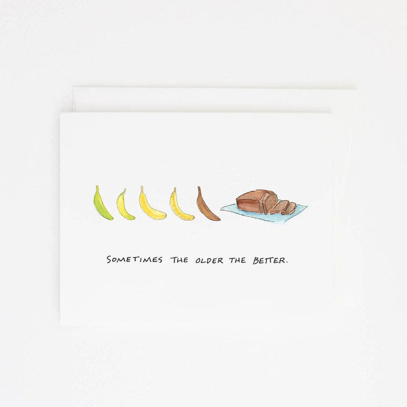 Banana Bread Card