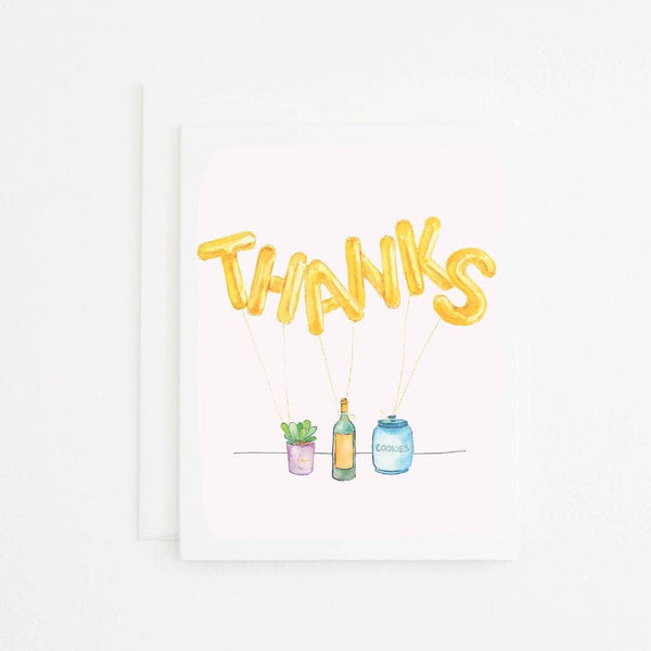 Mylar Thanks Card