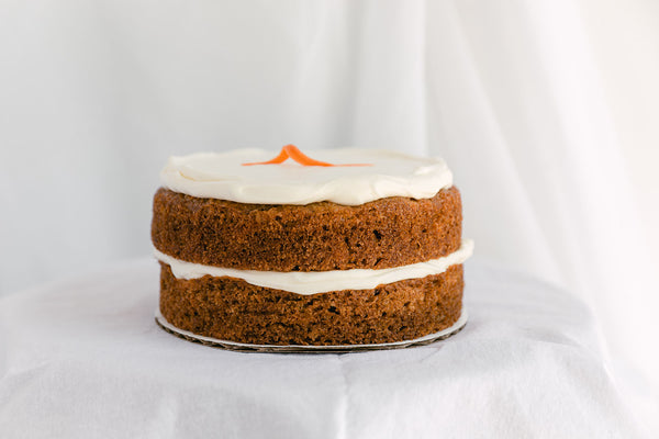 Double Stack Bombest Olive Oil Carrot Cake