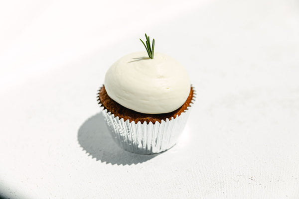 OG  Bomb Ass Cupcake With Vanilla Frosting