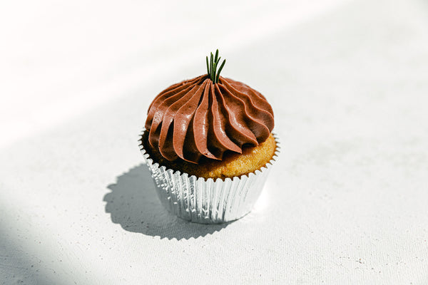 OG Bomb Ass Cupcake With Chocolate Frosting