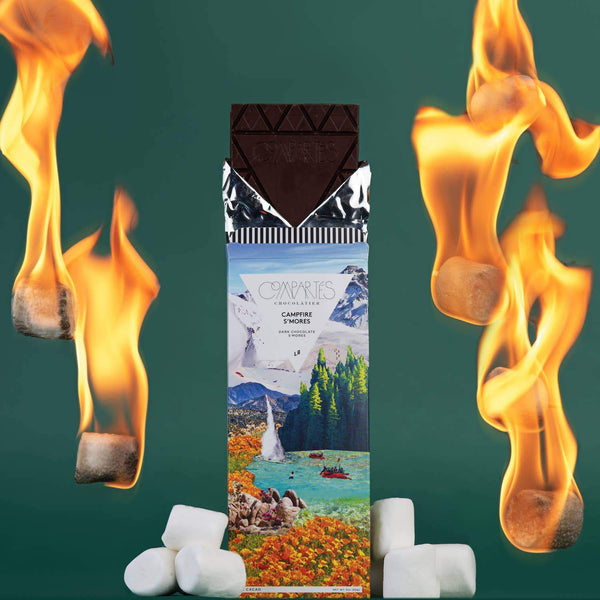 Compartés Campfire S'Mores Chocolate Bar