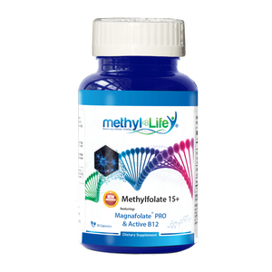 L-Methylfolate 15+ mg - Enhance Mood - filler-FREE with active B12 and inositol