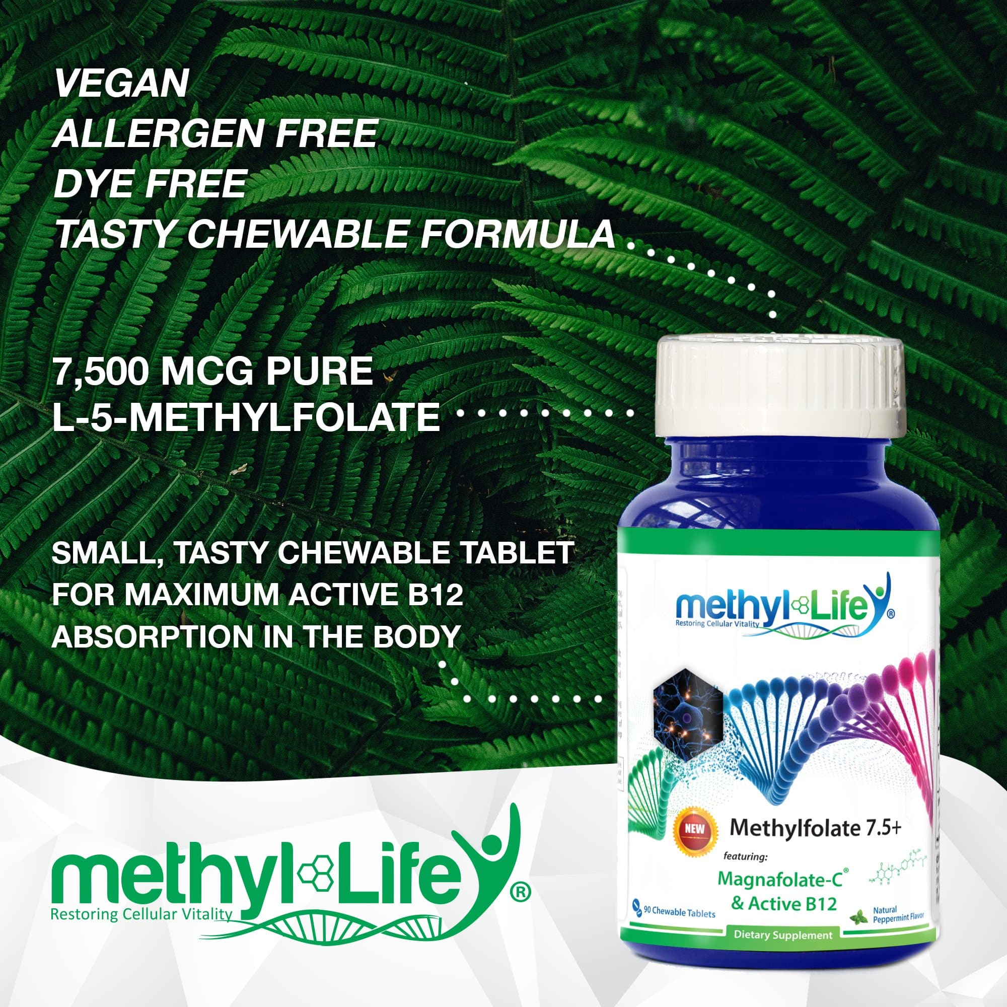 l methylfolate 7.5 mg tablets
