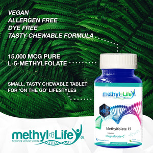 l-methylfolate 15 mg small tasty chewable tablet