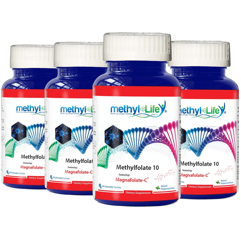 Wholesale: 4-pack of Methylfolate 10