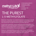 methylated multivitamin (the purest l-5-methylfolate)