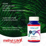 l-methylfolate 10 mg (10,000 mcg pure l-5-methylfolate)