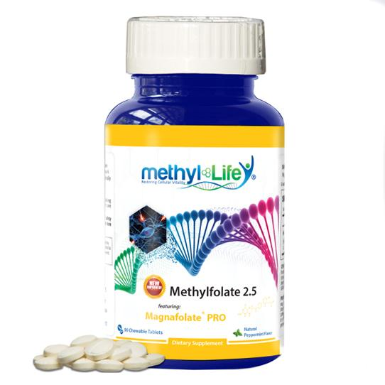l-methylfolate 2.5 mg