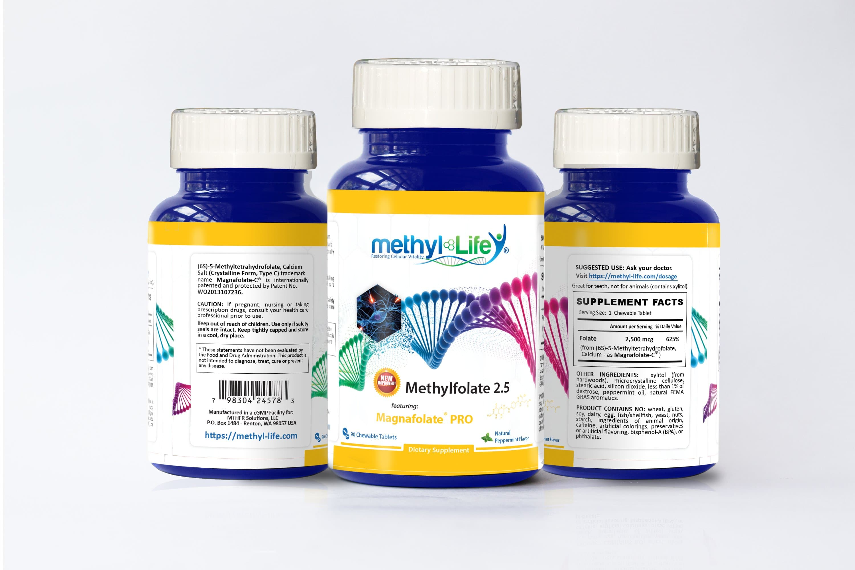 l-methylfolate 2.5 mg packaging