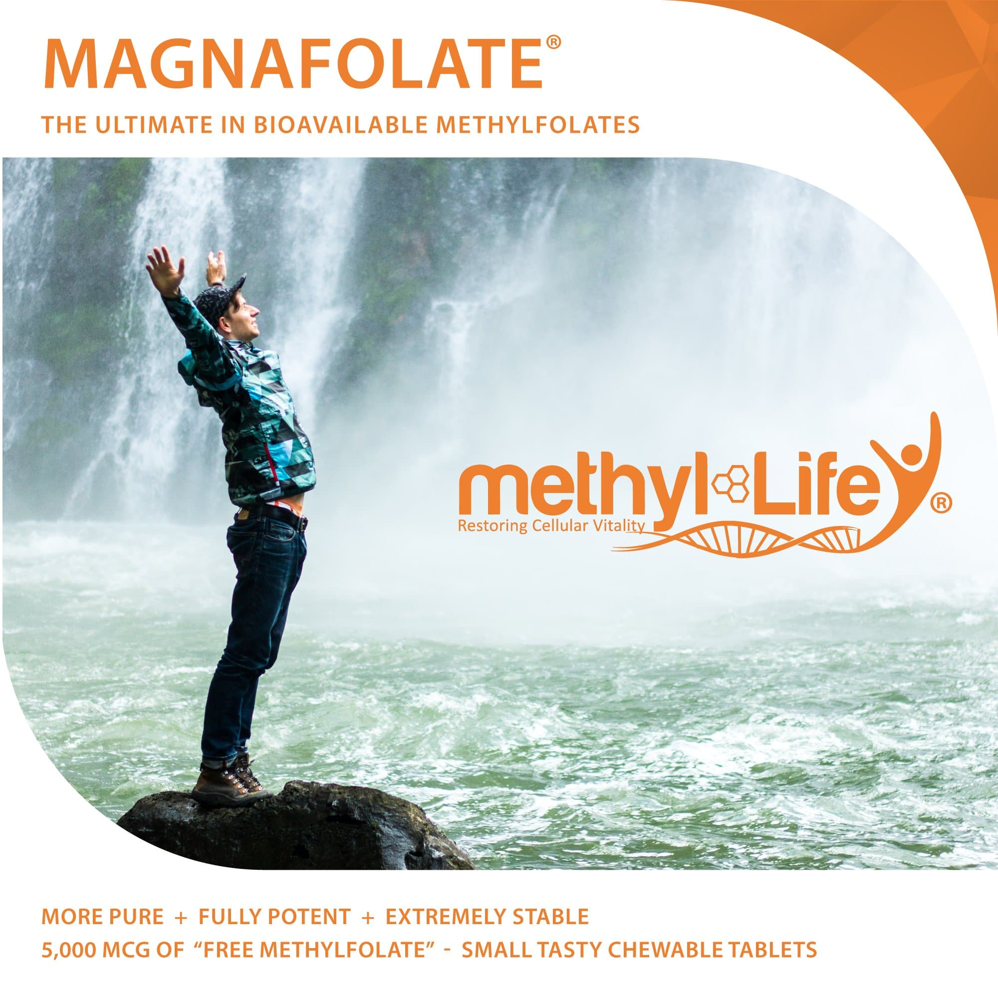 Methylfolate 5 mg - Purest L-Methylfolate - 3 month supply - Chewables