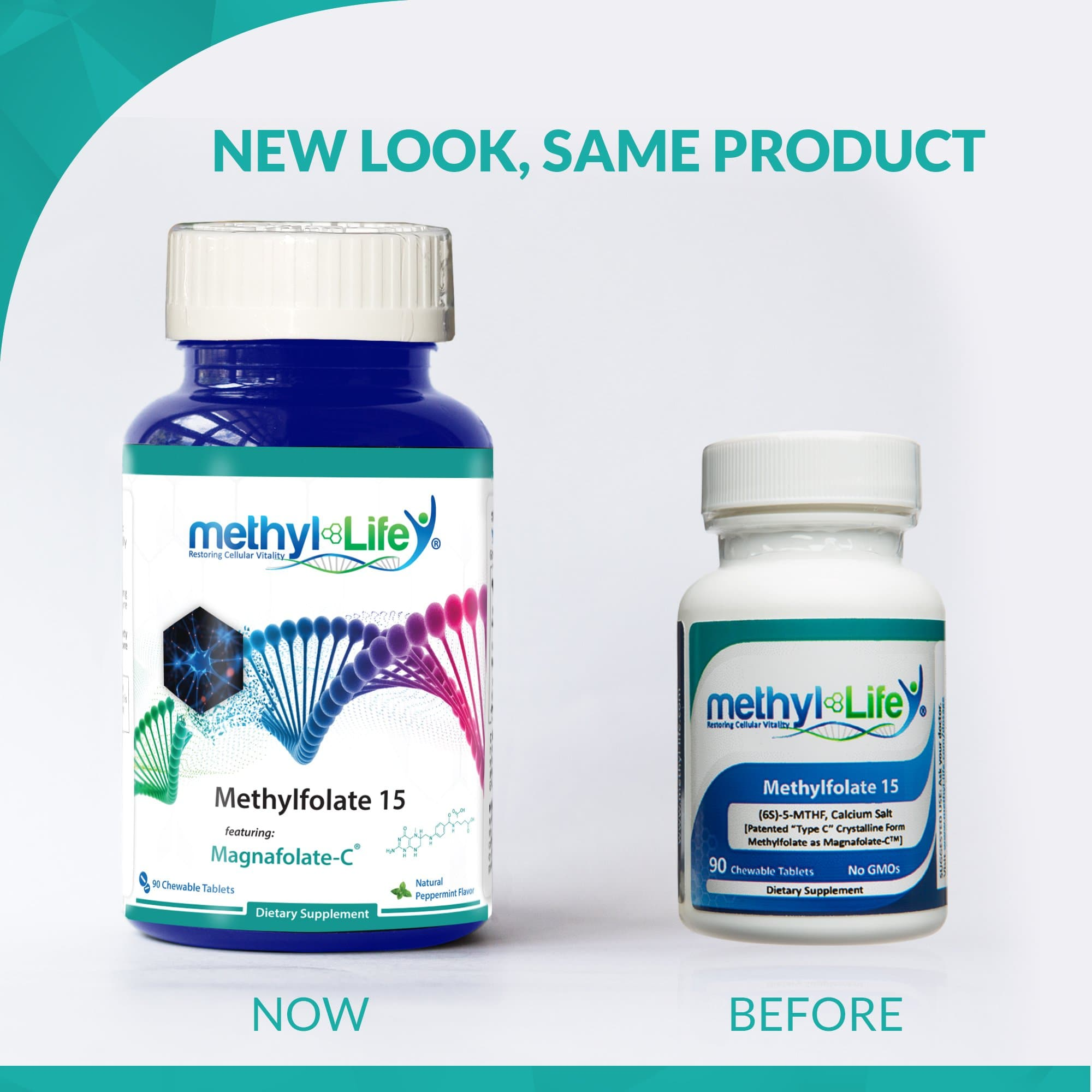 l-methylfolate 15 mg new look for packaging