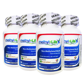 Wholesale: 4-pack of Non-Methylated Multi