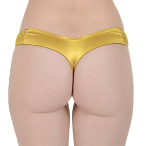 Ladies Yellow Thong Panty