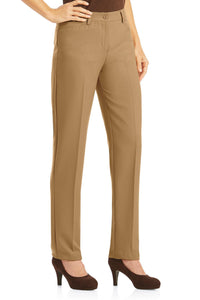 Diane Tummy-Control Straight Leg Pants - Plus
