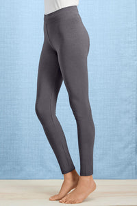Wide Waistband Leggings - Plus