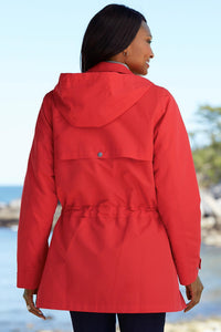 All Seasons Microfiber Anorak Jacket - Plus