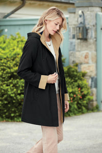 The Scituate 3/4 Length Coat - Plus