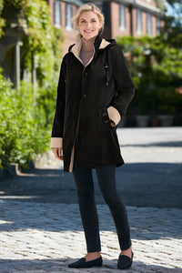 The Scituate 3/4 Length Coat - Petite