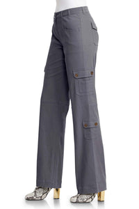 Stretch Cargo Pants - Plus