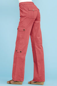 Stretch Cargo Pants - Petite