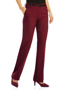 Suiting Separates Flat-Front Pants - Petite