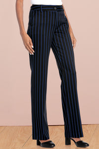 Suiting Separates Flat-Front Pants - Tall
