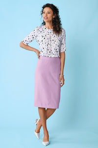 Suiting Separates Fully Lined Skirt - Petite