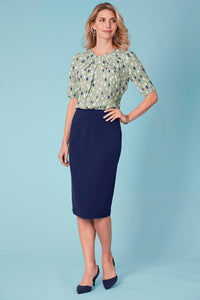 Suiting Separates Fully Lined Skirt - Misses