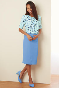 Suiting Separates Fully Lined Skirt - Plus