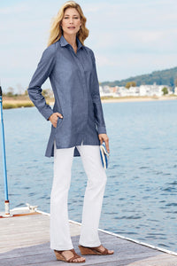 The Copley Button-Front Shirt - Tall