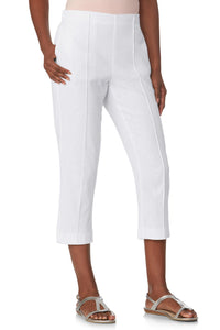 Linen Crop Pants - Tall