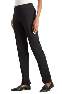 Classic Fit Straight Leg Pants By Slim-Sation